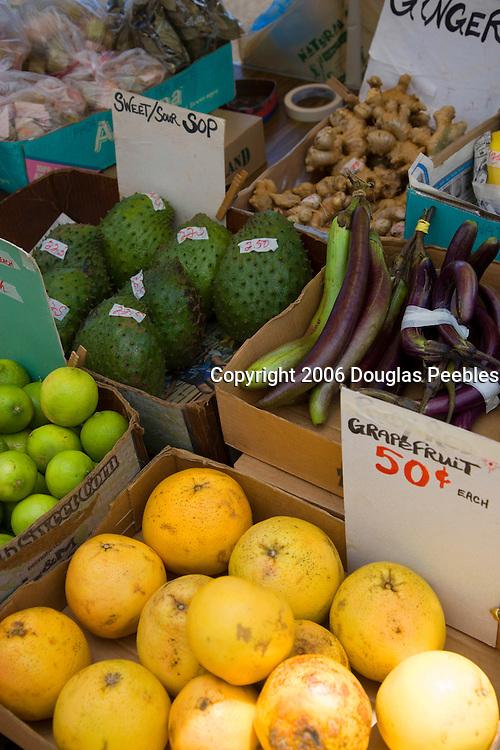 Kaloa Farmers Market, Kauai, Hawaii