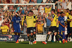 Goal, Chris Maguire of Oxford United scores from a free kick - Mandatory byline: Jason Brown/JMP - 19/07/2016 - FOOTBALL - Oxford, Kassam Stadium - Oxford United v Leicester City - Pre Season Friendly