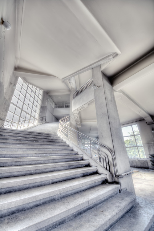 Staircases at the University of Liege