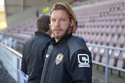 Notts County Midfielder Alan Smith during the Sky Bet League 2 match between Northampton Town and Notts County at Sixfields Stadium, Northampton, England on 2 April 2016. Photo by Dennis Goodwin.