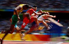 20080818 Olympics Beijing 2008, Atletik, Usain Bolt (JAM) i indledende 200 m heat.