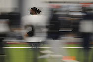Mississippi football player Kendrick Lewis at Pro Day in the IPF in Oxford, Miss. on Tuesday, March 23, 2010.