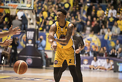 November 12, 2017 - Turin, Piemonte/Torino, Italy - Diante Garrett (Fiat Torino Auxilium) during the Basketball match, Serie A: Fiat Torino Auxilium vs Vanoli Cremona. Torino wins 88-80 at Pala Ruffini in Turin 12th november 2017 Photo by Alberto Gandolfo/Pacific Press) (Credit Image: © Alberto Gandolfo/Pacific Press via ZUMA Wire)