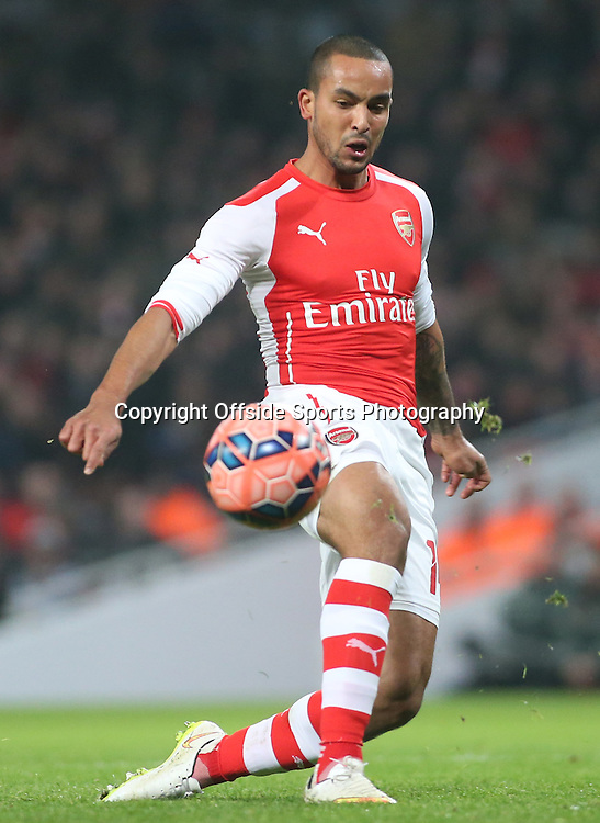 04 January 2015 - FA Cup Third Round - Arsenal v Hull City - Theo Walcott of Arsenal misses a great chance.<br /> <br /> Photo: Ryan Smyth/Offside