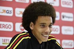 June 14, 2018 - Moscow, RUSSIA - Belgium's Axel Witsel pictures at a press conference of Belgian national soccer team the Red Devils in Nahabino, near Moscow, Russia, Thursday 14 June 2018. The team is preparing for their first game at the FIFA World Cup 2018 next Monday...BELGA PHOTO DIRK WAEM (Credit Image: © Dirk Waem/Belga via ZUMA Press)
