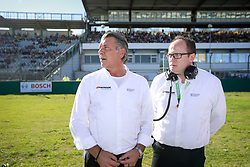 October 14, 2017 - Germany - Motorsports: DTM race Hockenheimring, Saison 2017 - 9. Event Hockenheimring, GER, Manfred Sandbichler, Thomas Baltes (Credit Image: © Hoch Zwei via ZUMA Wire)