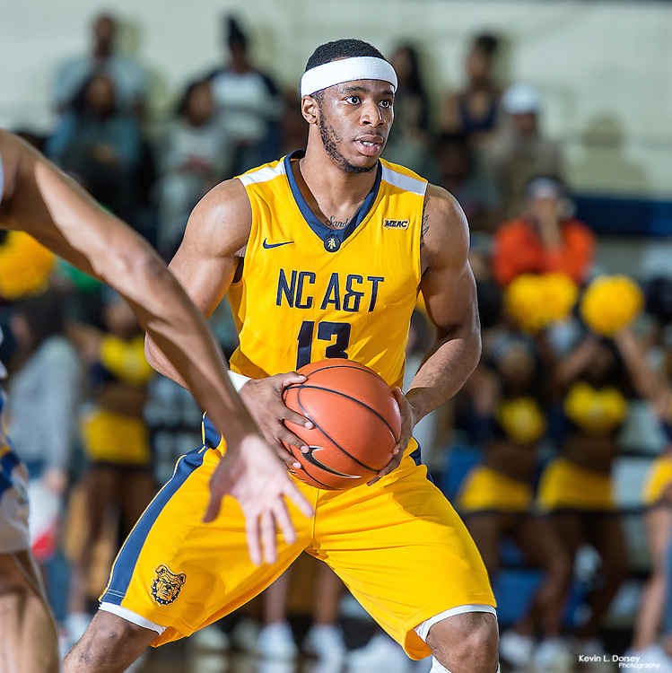 2016-17 A&T Men's Basketball vs Allen - Ncataggies.com \ Photo by: Kevin L. Dorsey