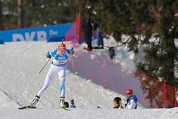 11.03.2016, Holmenkollen, Oslo, NOR, IBU Weltmeisterschaft Biathlon, Oslo, 4x6 Km Staffel, Damen, im Bild Kaisa Makarainen (FIN) // during 4x6 km women relay of the IBU World Championships, Oslo 2016 at the Holmenkollen in Oslo, Norway on 2016/03/11. EXPA Pictures © 2016, PhotoCredit: EXPA/ Newspix/ Tomasz Jastrzebowski<br /> <br /> *****ATTENTION - for AUT, SLO, CRO, SRB, BIH, MAZ, TUR, SUI, SWE only*****