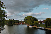 Stratford Upon Avon, Great Britain - A View in June