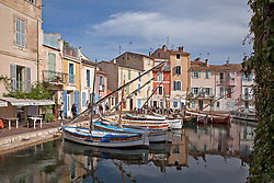 A favorite with artists, the Canal San Sebastien in Martigues provides both a safe haven from the Mistral but also a pleasant place to stroll and eat.