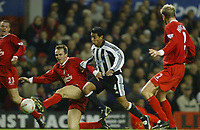 F.A CUP 4TH ROUND   LIVERPOOL V NEWCASTLE UNITED<br />
