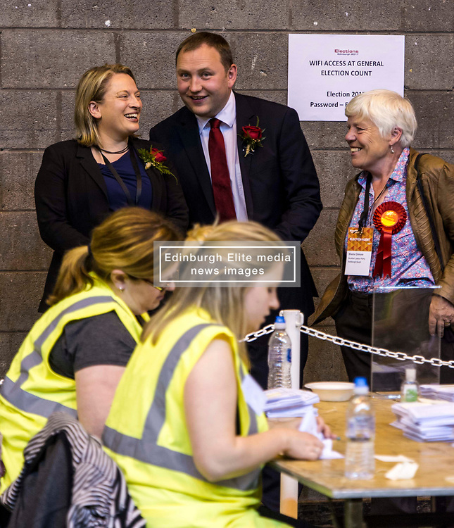 Pictured: Ian Murray<br /> The Edinburgh Count and  announcements ended  around 4:30 this morning with weary heads around all parties.<br /> <br /> Ger Harley | EEm 9 June 2017