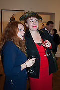 CARSON PARKIN; SOPHIE PARKIN, Opening of Bailey's Stardust - Exhibition - National Portrait Gallery London. 3 February 2014