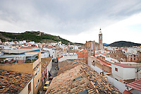 Rooftops of Sagunto, Spain