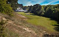 WASSENAAR / Den Haag - Hole 18 met clubhuis. Koninklijke Haagsche Golf Club    COPYRIGHT KOEN SUYK