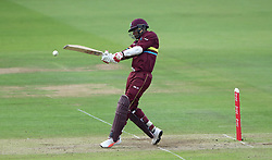 West Indies' Marlon Samuels during the special fundraising T20 International match at Lord's, London.