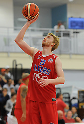 Mathias Seilund of Bristol Flyers - Mandatory byline: Dougie Allward/JMP - 07966 386802 - 19/09/2015 - BASKETBALL - SGS Wise Campus - Bristol, England - Bristol Flyers v Surrey Scorchers - British Basketball League