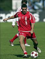 Fotball<br /> Trening Ajax<br /> Amsterdam<br /> 9. september 2004<br /> Foto: Digitalsport<br /> NORWAY ONLY<br /> TOM SOETAERS