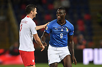 Mario Balotelli Italy, Robert Lewandowski Poland.<br /> Bologna 07-09-2018 <br /> Football Calcio Uefa Nations League <br /> Italia - Polonia / Italy - Poland <br /> Foto Andrea Staccioli / Insidefoto