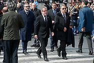 2013/03/23 Roma, funerali del Capo della Polizia. Nella foto Roberto Maroni.<br /> Rome, Chief of Police funerals. In the picture Roberto Maroni - &copy; PIERPAOLO SCAVUZZO