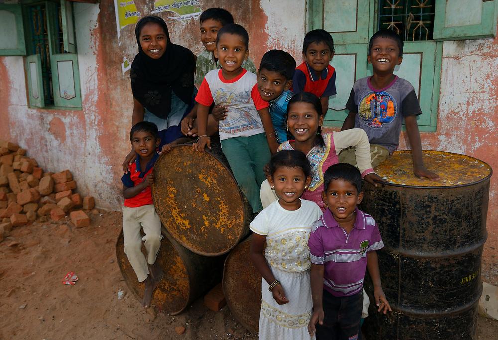 Kids, Pulicat Lake, Tamil Nadu, India