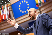 Plenary session<br /> Antonio TAJANI - EP President meets with Charles MICHEL -  Prime Minister of Belgium<br /> Plenary session. Debate with the prime Minister of Belgium on the Future of Europe<br /> - Votes followed by explanations of votes