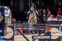 Gulliksen Geir, NOR, Gin Chin van het Lindenhof<br /> Jumping International de Bordeaux 2020<br /> © Hippo Foto - Dirk Caremans<br />  08/02/2020