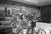 09/08/1967<br /> 08/09/1967<br /> 09 August 1967<br /> Opening of Esso service station at Dean's Grange, Dublin. The site was originally a sculptures yard was a 2-bay service station with the latest equipment. It was to be a 24 hours station and a 5-minute Car Wash and Electronic Tuning was available. A view of the well-stocked spares department at the station.