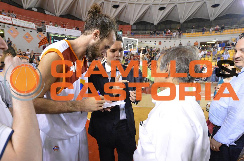 DESCRIZIONE : Roma Lega A 2012-2013 Acea Roma Sutor Montegranaro<br /> GIOCATORE : Datome Luigi<br /> CATEGORIA : curiosita tv scandalo<br /> SQUADRA : Acea Roma<br /> EVENTO : Campionato Lega A 2012-2013 <br /> GARA : Acea Roma Sutor Montegranaro<br /> DATA : 05/05/2013<br /> SPORT : Pallacanestro <br /> AUTORE : Agenzia Ciamillo-Castoria/ GiulioCiamillo<br /> Galleria : Lega Basket A 2012-2013  <br /> Fotonotizia : Roma Lega A 2012-2013 Acea Roma Sutor Montegranaro<br /> Predefinita :