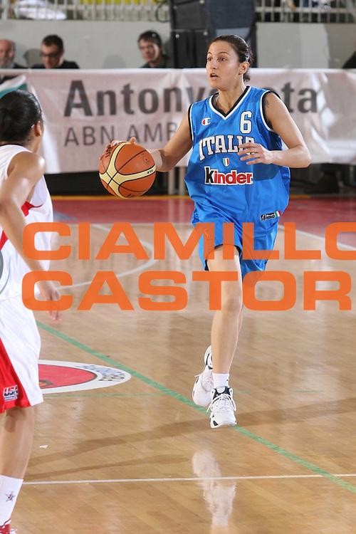 DESCRIZIONE : Roma Amichevole Femminile Italia Usa <br /> GIOCATORE : Cirone <br /> SQUADRA : Nazionale Italiana Femminile <br /> EVENTO : Amichevole Femminile Italia Usa <br /> GARA : Italia Usa <br /> DATA : 11/04/2007 <br /> CATEGORIA : Palleggio <br /> SPORT : Pallacanestro <br /> AUTORE : Agenzia Ciamillo-Castoria/G.Ciamillo