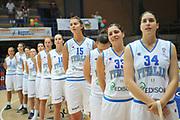 DESCRIZIONE : Latina Qualificazioni Europei Francia 2013 Italia Finlandia<br /> GIOCATORE : team italia<br /> CATEGORIA :  presentation inno nazionale<br /> SQUADRA : Nazionale Italia<br /> EVENTO : Frosinone Qualificazioni Europei Francia 2013<br /> GARA : Italia Finlandia Italy Finland<br /> DATA : 27/06/2012<br /> SPORT : Pallacanestro <br /> AUTORE : Agenzia Ciamillo-Castoria7M.Gregolin<br /> Galleria : Fip 2012<br /> Fotonotizia : Latina Qualificazioni Europei Francia 2013 Italia Finlandia<br /> Predefinita :
