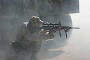 6th Annual US Army Sniper Competition, Fort Benning, Georgia. Image is protected by registered copyright.  Use without written permission from copyright holder is prohibited and may be subject to penalties up to $150,000 per individual infringement.  Contact sales@stockphoto.us for further information and licensing.