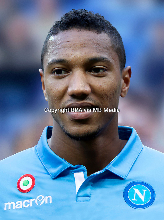 Italian League Serie A -2014-2015 / <br /> ( Ssc Napoli ) - <br /> Jonathan De Guzman