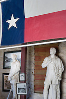 Stephen F. Austin and Sam Houston Sculptures at Elizabet Ney Museum, Austin, Texas