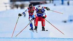 19.01.2019, Idre Fjall, Idre, SWE, FIS Weltcup Ski Cross, im Bild Final Fiva before Midol // during the FIS Ski Cross World Cup at the Idre Fjall in Idre, Sweden on 2019/01/19. EXPA Pictures © 2019, PhotoCredit: EXPA/ Nisse Schmidt<br /> <br /> *****ATTENTION - OUT of SWE*****