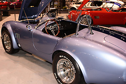 08 February 2007: 60's era Shelby Cobra. The Chicago Auto Show is a charity event of the Chicago Automobile Trade Association (CATA) and is held annually at McCormick Place in Chicago Illinois.