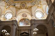 Interior of the Royal Palace, Madrid, Spain