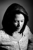 WASHINGTON, DC - NOVEMBER 18:  Republican Presidential Candidate and Minnesota Congresswoman, Michele Bachmann, stands for a portrait at her campaign office in Washington DC, Friday, November 18, 2011. (Photo by Melina Mara/The Washington Post) . ...