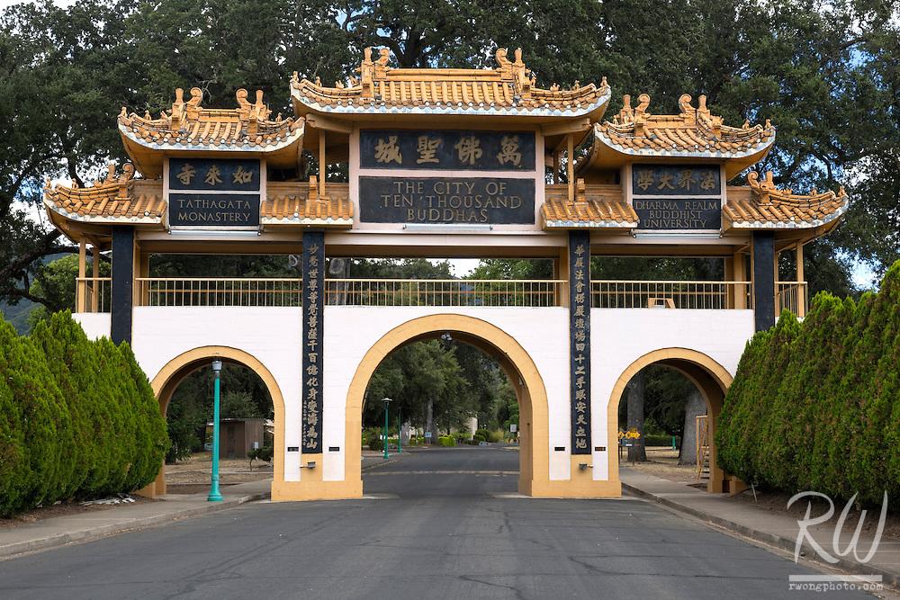 The City of Ten Thousand Buddhas, Talmage, California