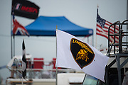 March 17-19, 2016: Mobile 1 12 hours of Sebring 2016. Lamborghini flag at sebring