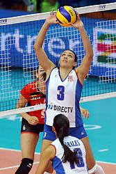 Puerto Rico Mojica Vilmarie sets a ball