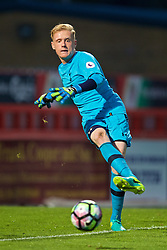 STEVENAGE, ENGLAND - Monday, September 19, 2016: Tottenham Hotspur's goalkeeper Tom Glover during the FA Premier League 2 Under-23 match at Broadhall. (Pic by David Rawcliffe/Propaganda)