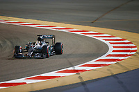 HAMILTON Lewis (gbr) Mercedes GP MGP W07 action   during 2016 Formula 1 FIA world championship, Bahrain Grand Prix, at Sakhir from April 1 to 3  - Photo Frederic Le Floc'h / DPPI