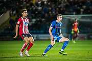 Jimmy McNulty of Rochdale AFC during the EFL Sky Bet League 1 match between Rochdale and Lincoln City at the Crown Oil Arena, Rochdale, England on 17 September 2019.