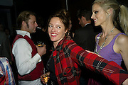 Lars von Bennigson; Alice Temperley; LAURA BAILEY, Afterparty for Burberry  Spring/Summer 2010 Show. Horseferry House. Horseferry Rd. London sW1.  London Fashion Week.  22 September 2009.