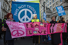 "24 Jan. 2015 - ""Wrap up Trident"" - protest in central London"