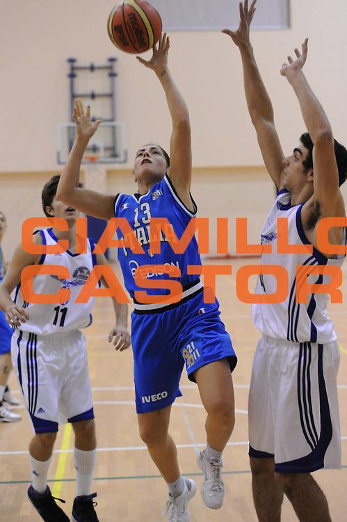 DESCRIZIONE : Roma Basket Amichevole nazionale donne 2011-2012<br /> GIOCATORE : Bagnara Benedetta<br /> SQUADRA : Italia<br /> EVENTO : Italia Lazio basket<br /> GARA : Italia Lazio basket<br /> DATA : 29/11/2011<br /> CATEGORIA : sottomano equilibrio<br /> SPORT : Pallacanestro <br /> AUTORE : Agenzia Ciamillo-Castoria/GiulioCiamillo<br /> Galleria : Fip Nazionali 2011<br /> Fotonotizia : Roma Basket Amichevole nazionale donne 2011-2012<br /> Predefinita :
