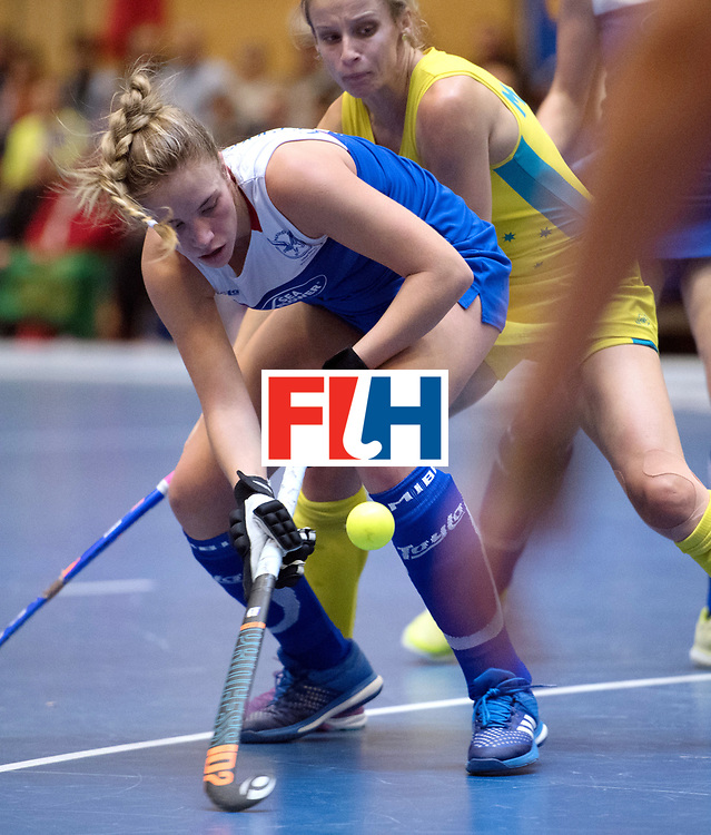 BERLIN - Indoor Hockey World Cup<br /> Australia - Namibia<br /> foto: <br /> WORLDSPORTPICS COPYRIGHT FRANK UIJLENBROEK