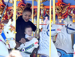 EXCLUSIVE: Janet Jackson and Ciara enjoy themselves with a fun day at the happiest place on earth, Disneyland. The two mothers who brought along their little guys, were seen enjoying many of the rides attractions including It's a small world, pirates of the carribean, Indiana jones, space mountain and the Peter Pan ride in fantasyland. The two were seen flanked by about six bodyguards, four of which Janet brought along and two of the park's own. They also had a number of friends and hired 3 VIP tour guides. 10 Oct 2017 Pictured: Janet Jackson. Photo credit: MEGA TheMegaAgency.com +1 888 505 6342