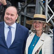 NLD/Den Haag/20190917 - Prinsjesdag 2019,  Henk Otten, Dorien Rookmaker en Jeroen de Vries van Groep Otten